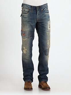 True Religion - Ricks on the Road Denim Jeans