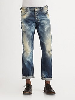 PRPS - Barracuda Straight-Leg Wave Jeans