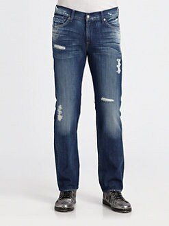 7 For All Mankind - Slimmy Slim-Straight Leg Jeans