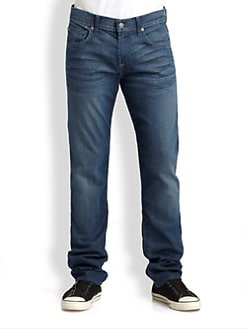 7 For All Mankind - The Straight-Fit Jeans