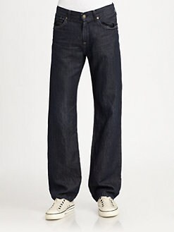 7 For All Mankind - Austyn Midnight Classic Relaxed-Straight Jeans