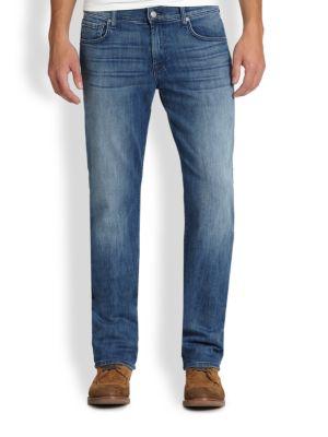 Luxe Performance: Carsen Modern Straight-Leg Jeans