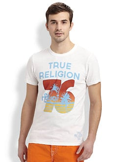 True Religion - Graphic Hawaiian Tee