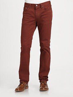 J Brand - Kane Slim Straight-Leg Twill Pant