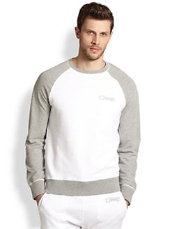 True Religion - Raglan Colorblock Pullover Shirt