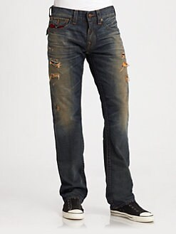 True Religion - Ricky Baja-Detail Jeans