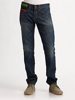 True Religion - Geno Baja-Pocket Jeans