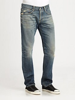 AG Adriano Goldschmied - Slouchy Slim-Leg Jeans