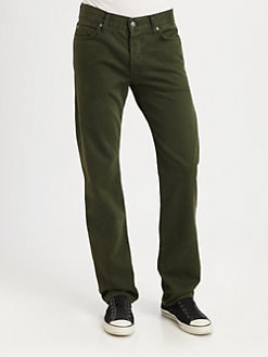 7 For All Mankind - The Straight Twill Pants