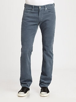 AG Adriano Goldschmied - Matchbox Slim-Straight Corduroy