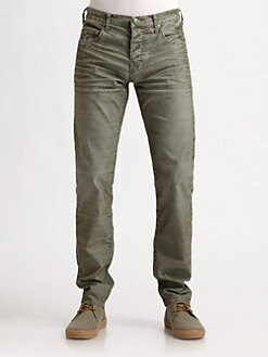 True Religion - Geno Slim-Fit Corduroys