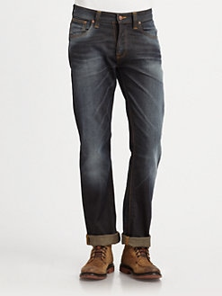 Nudie Jeans - Average Joe Relaxed-Fit Jeans
