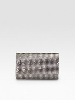 Judith Leiber - Fizzy Fullbead Crystal Clutch