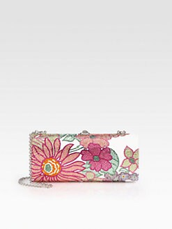 Judith Leiber - Jeweled Tapered Clutch