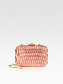Judith Leiber - Full Bead Slide Lock Clutch
