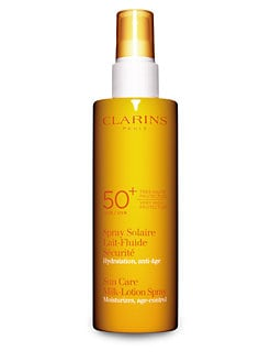 Clarins - Sunscreen Care Milk Lotion Spray SPF 50/5.3 oz.