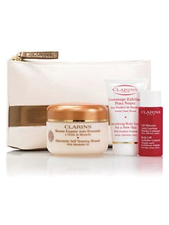 Clarins - Sun-Kissed Beauty Delectable Self Tanning Kit for Face & Body