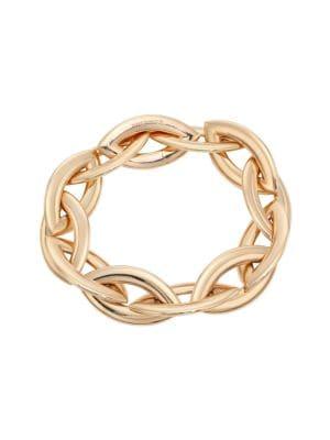 Doppio Senso 18K Rose Gold Marquis Chain Bracelet