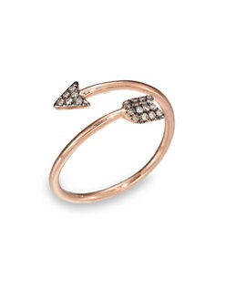 Diane Kordas - Diamond Arrow Wrap Ring