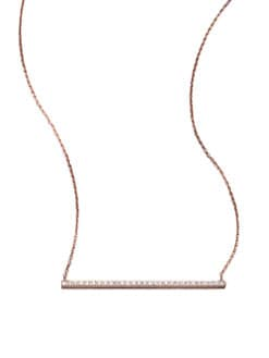 Diane Kordas - Diamond Bar Necklace