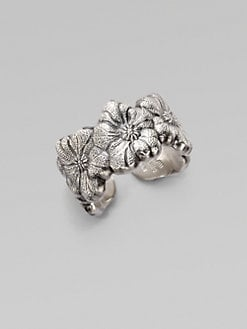 Buccellati - Blossom Sterling Silver Band Ring