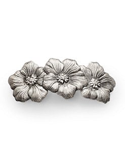 Buccellati - Blossom Sterling Silver Barrette