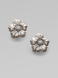 Buccellati - Blossom Sterling Silver Stud Earrings