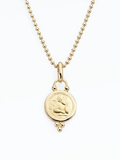 Temple St. Clair - 18K Yellow Gold Cherub Enhancer