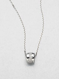 Georg Jensen - Diamond and 18K White Gold Necklace