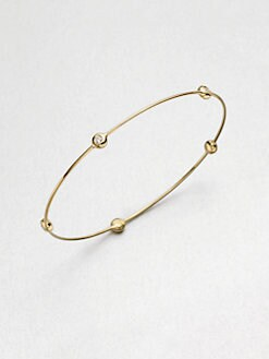 Georg Jensen - Diamond and 18K Yellow Gold Bracelet