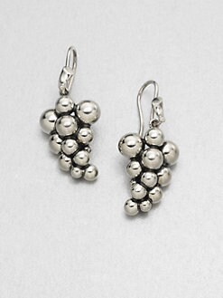 Georg Jensen - Sterling Silver Grape Earrings