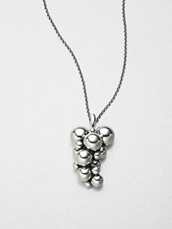 Georg Jensen - Sterling Silver Grape Necklace
