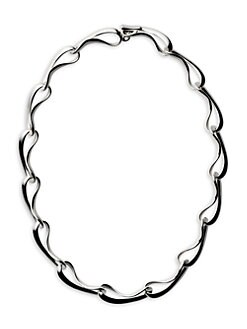 Georg Jensen - Sterling Silver Link Necklace