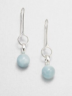 Georg Jensen - Aquamarine and Sterling Silver Earrings