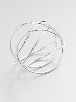 Georg Jensen - Sterling Silver Double Bangle Bracelet