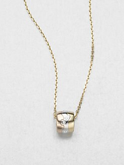 Georg Jensen - Diamond, 18K Yellow Gold, 18K Rose Gold & 18K White Gold Necklace