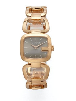 Gucci - Goldtone PVD Watch