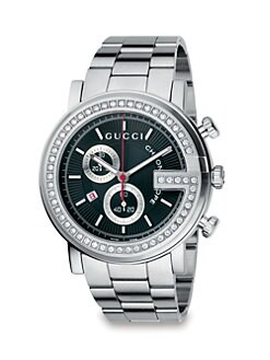 Gucci - Diamond G Chronograph Watch