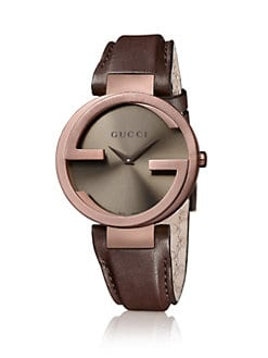 Gucci - Brown PVD Watch