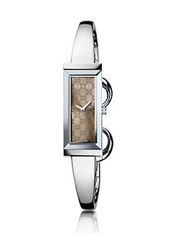 Gucci - G-Frame Collection Watch/Brown GG Dial
