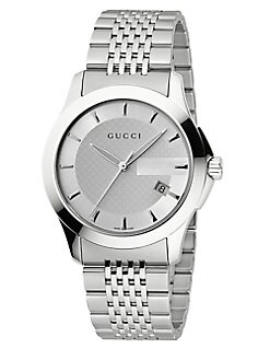 Gucci - G-Timeless Collection Watch/Silver Dial
