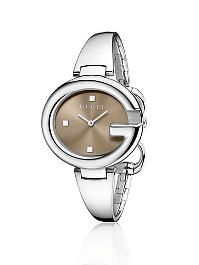 b6aa854b463 Gucci Stainless Steel Bangle Watch 36MM Silver on PopScreen