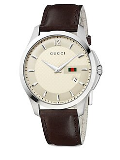 Gucci - G-Timeless Collection Watch/Ivory Dial