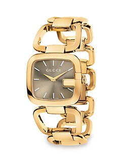 Gucci - G-Gucci Collection Watch/Yellow Gold PVD