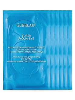 Guerlain - Super Aqua Eye Patch Anti-Puffiness Smoothing Eye Patch/6 Packs