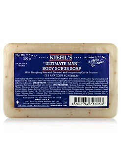 Kiehl's Since 1851 - Ultimate Man Body Scrub Soap/7 oz.