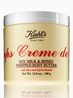 Kiehl's Since 1851 - Creme de Corps Soy Milk & Honey Whipped Body Butter/12 oz.