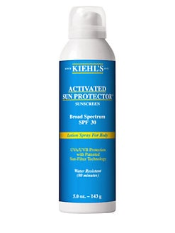 Kiehl's Since 1851 - Activated Sun Protector Spray Lotion for Body SPF 30/5 oz.