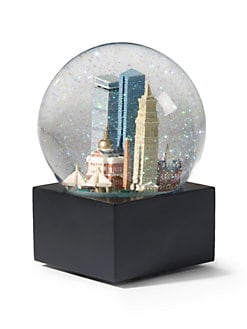 Saks Fifth Avenue - Boston Snow Globe