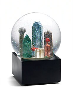 Saks Fifth Avenue - Dallas Snow Globe